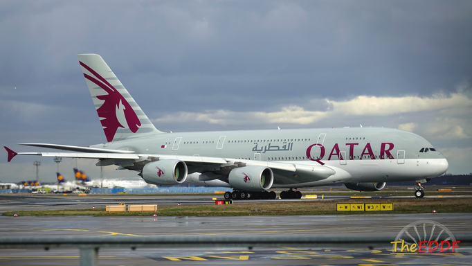 Qatar Airways Airbus A380-800 A7-APE