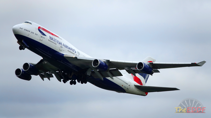 British Airways Boeing 747-400 B-CIVY