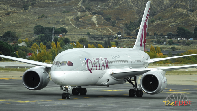 Qatar Airways Boeing 787-8 A7-BDA
