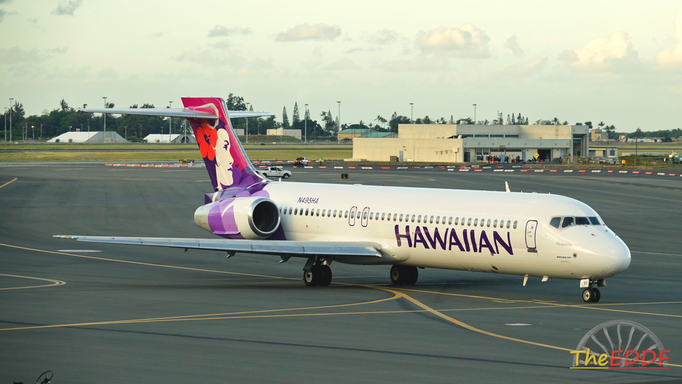 Hawaiian Airlines Boeing 717-200 N495HA