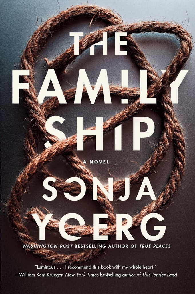 The Family Ship by Sonja Yoerg. Cover photograph by © Jarno Saren.