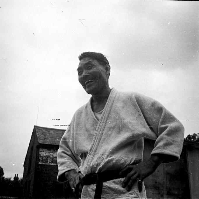 Moshés Judolehrer:  Koizumi, Budokwai in London