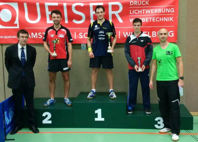 Um ein Haar: Rado verpasst Gold im Finale gegen Thomas Daxböck.