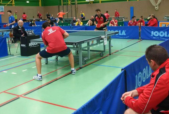 Rado im Finale gegen Thomas Daxböck.