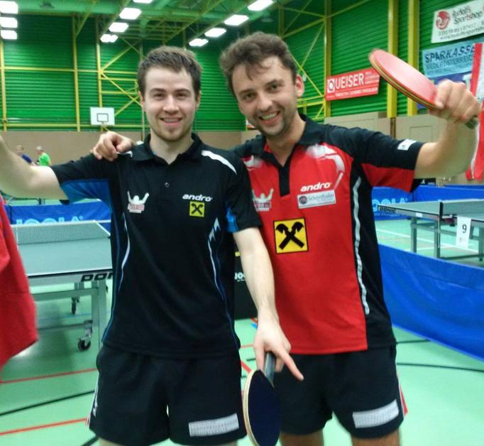 Martin und Rado warenunser Top-Doppel.