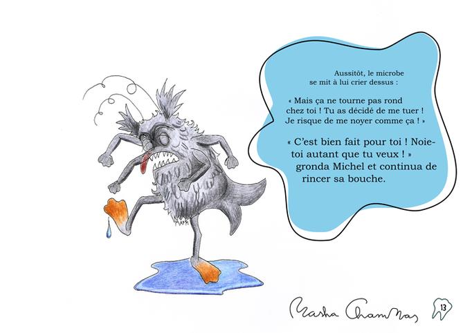 """Michou et le microbe dentaire"", 2015"
