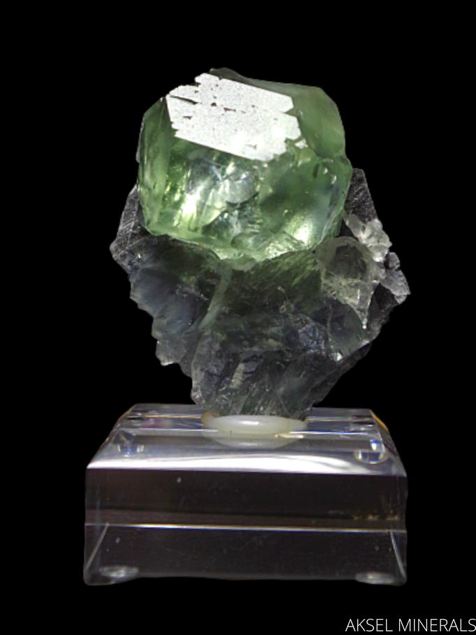 AM487 - Fluorite - Xia Yang Mine, Xia Yang City, Yongchun Co., Quanzhou, Fujian, Chine