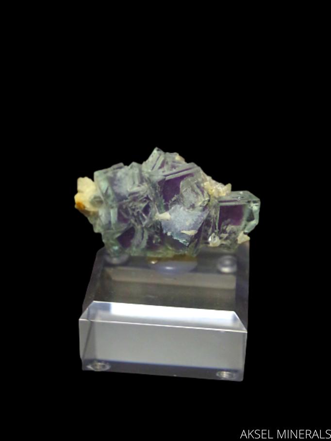 AM486 - Fluorite - Huanggang Deposit, Hexigten Banner, Chifeng City, Inner Mongolia, Chine