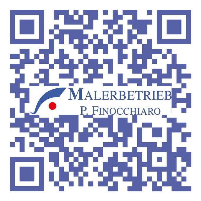 QR-Code Malerbetrieb P. Finocchiaro