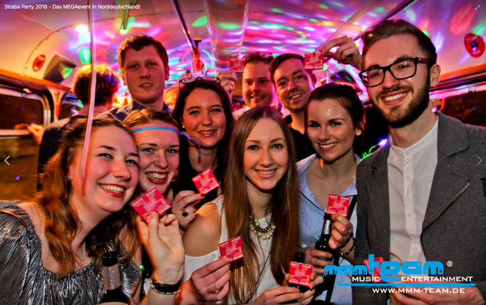 Strassenbahn Party Bremen 2018 mit DJ Franky