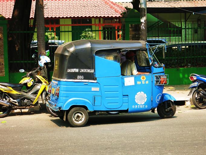 Tuk-Tuk in Jakarta
