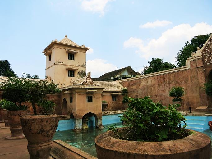 Wasserpalast in Yogyakarta