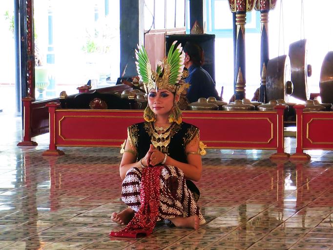 Indonesische Tänzerin