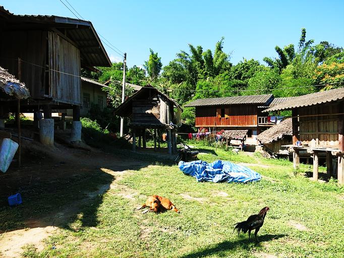 Dorf der Karen