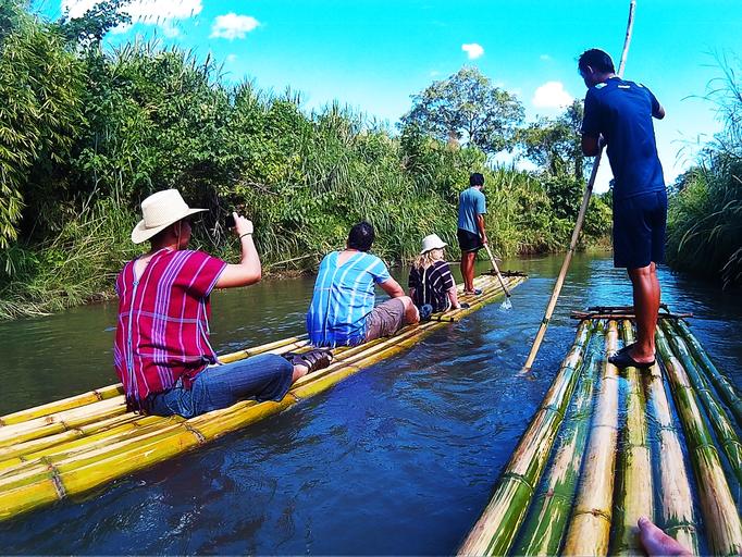 Bambusboottour