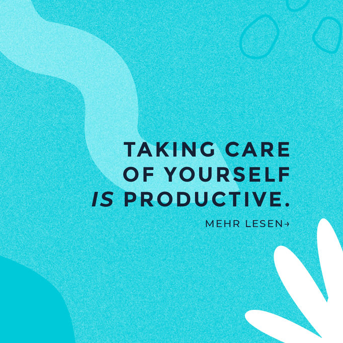Motivational Quote Post Take Care of yourself Positivity Content for Cosmetic Studio
