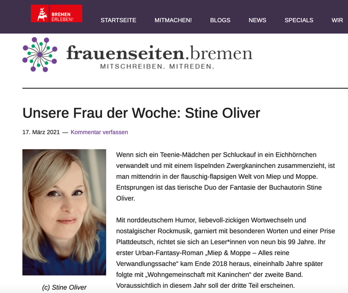 Frauenseiten Bremen (17.03.2021)