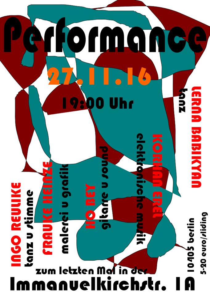 Plakat: Frauke Heinze