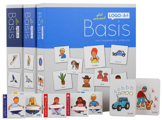 Many illustrations voor een nieuwe frisse methode logopedie, www.logo-art.com