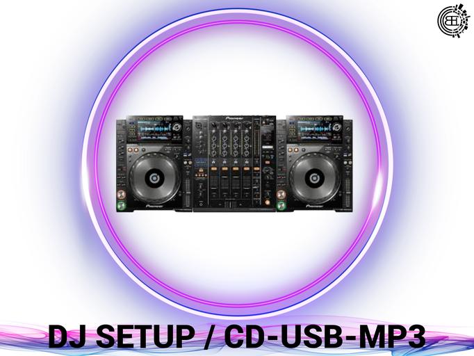 DJ, Eventtechnik, Ton, Video und Licht verleih. Dj Setup.