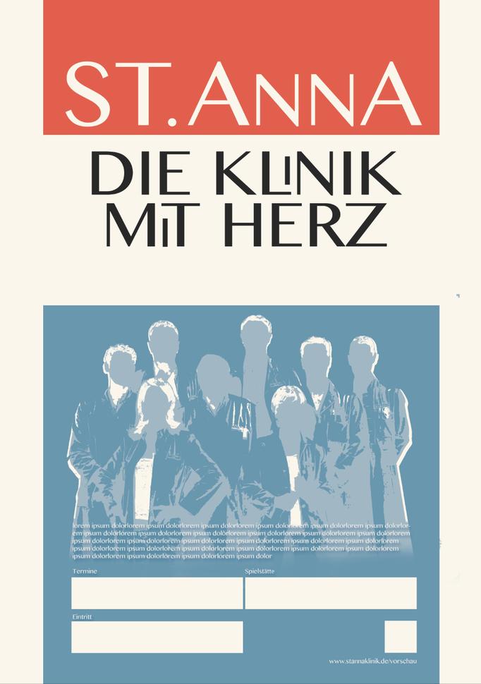 Theater Plakat-Entwurf