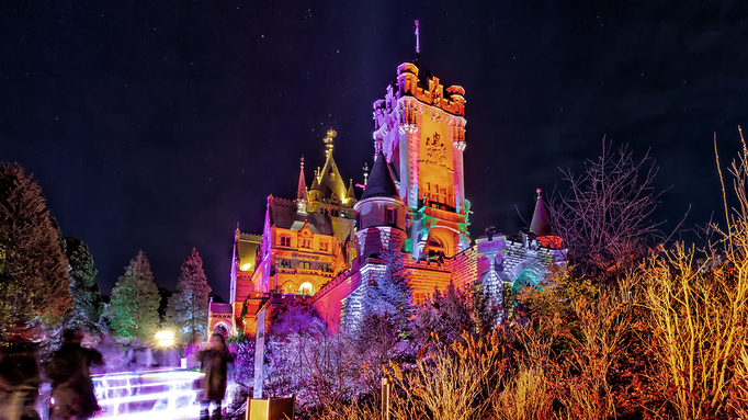 Glowing Castle VI