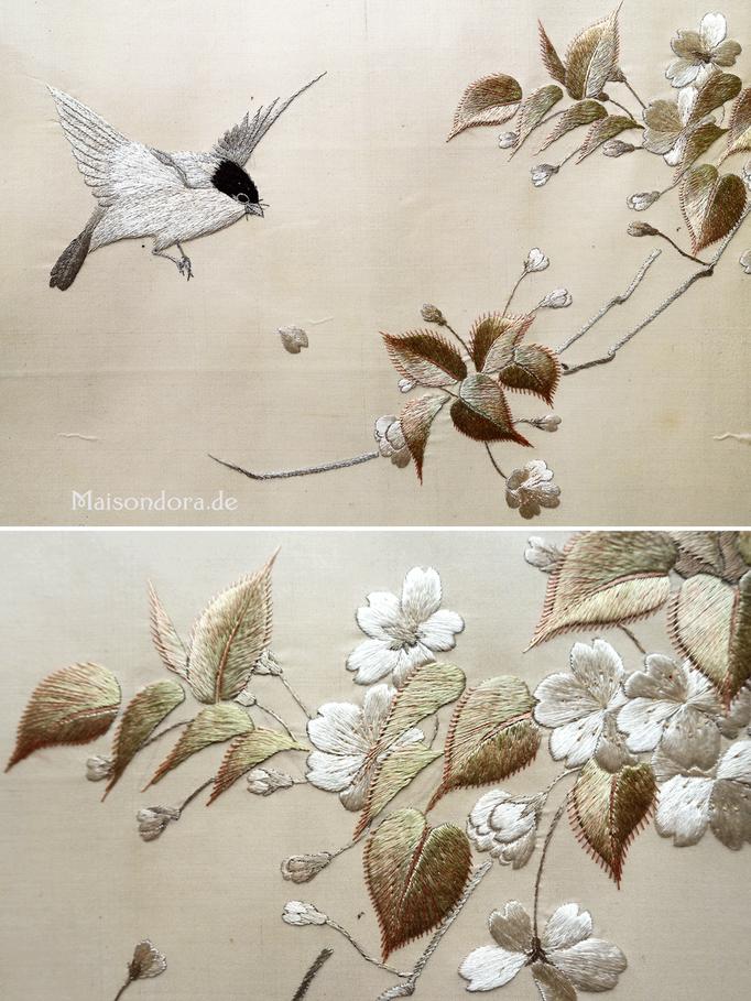 Antike Stickerei China 1900