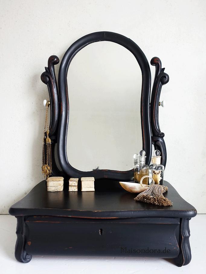 Antike Spiegelkonsole Louis Philippe 1860