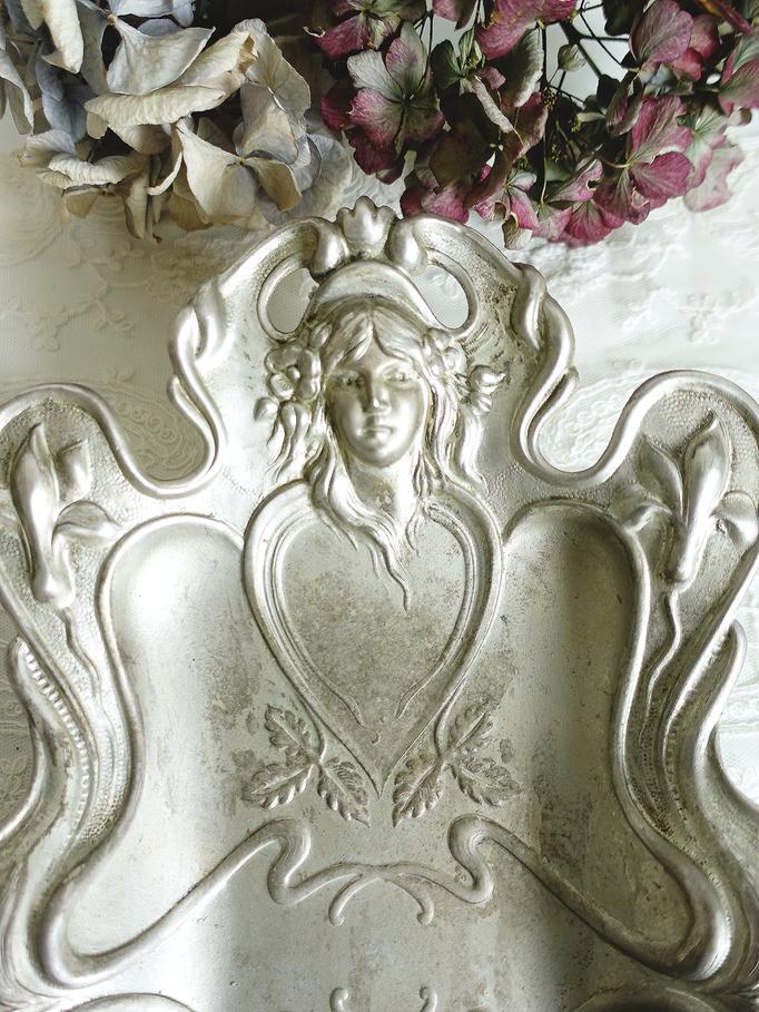 Art Nouveau Schale Prägeblech