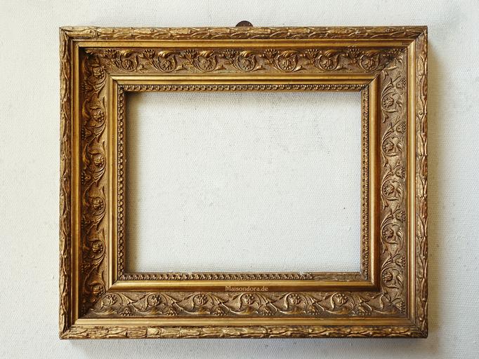 Antiker Kabinettrahmen Stuckrahmen Frankreich um 1870