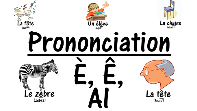 French Pronunciation È, Ê, AI