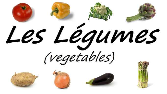 French Vegetables Vocabulary Les Légumes
