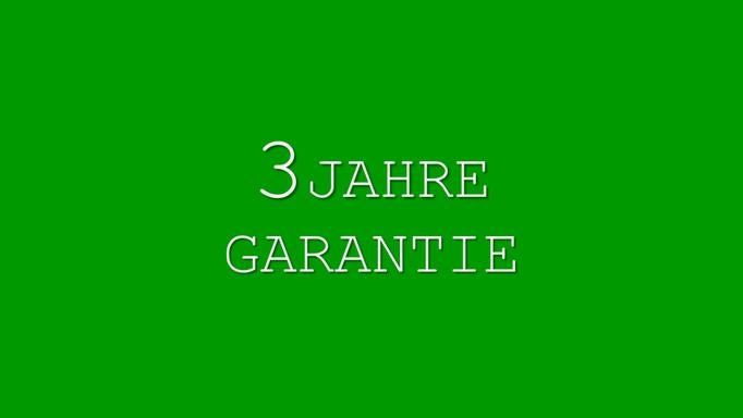 3 Jahre Garantie auf Ihre Gartenmöbel