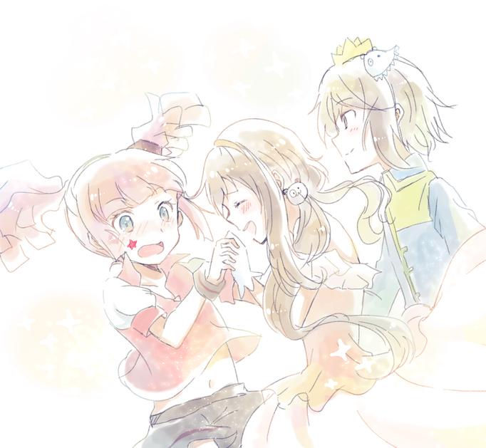 魔法と女神と姫と王子