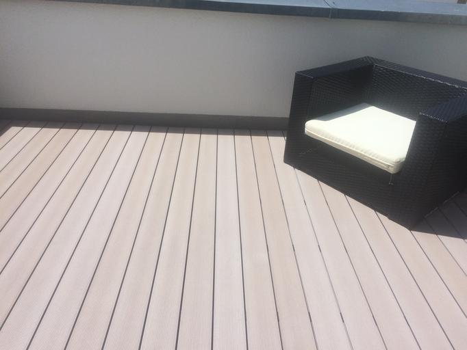 Balkon RESYSTER Weiß