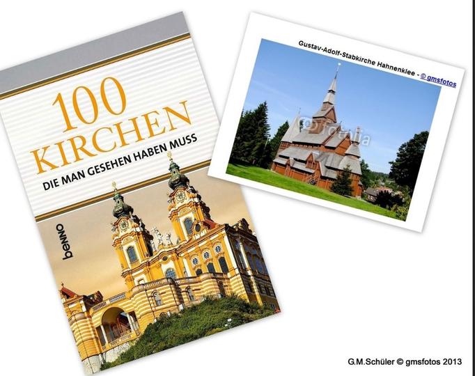 100 Kirchen die man gesehen haben muss - Benno Verlag