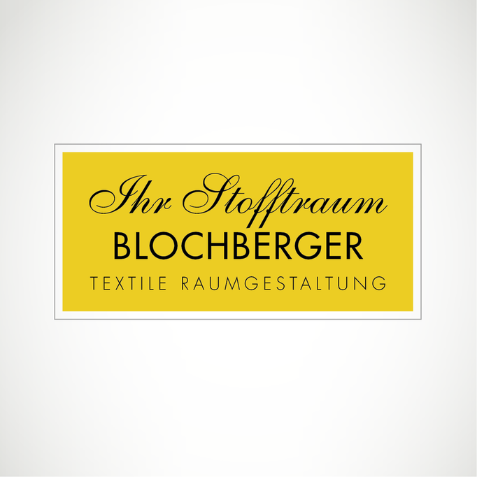Ihr Stofftraum Blochberger Textile Raumgestaltung - Logo