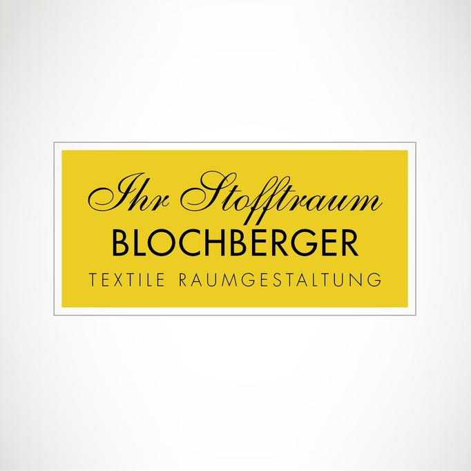 Ihr Stofftraum Blochberger Textile Raumgestaltung - Logo