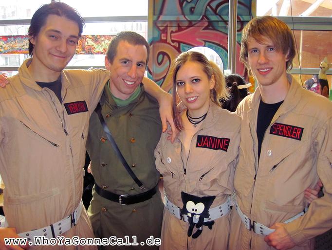 Who Ya Gonna Call - Frankfurter animexx Treffen 2011