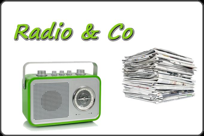 Über uns im Radio, Zeitung & Co