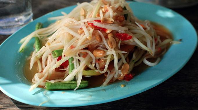 Som Tam - Pappaya Salad