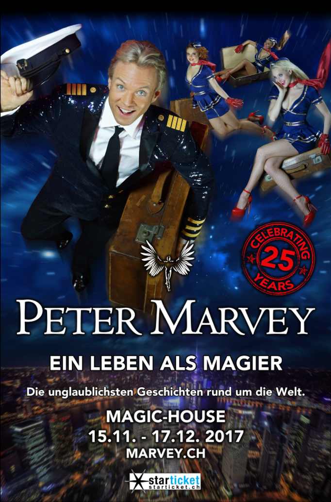 Peter Marvey, Celebrating 25 Years of Magic 2017