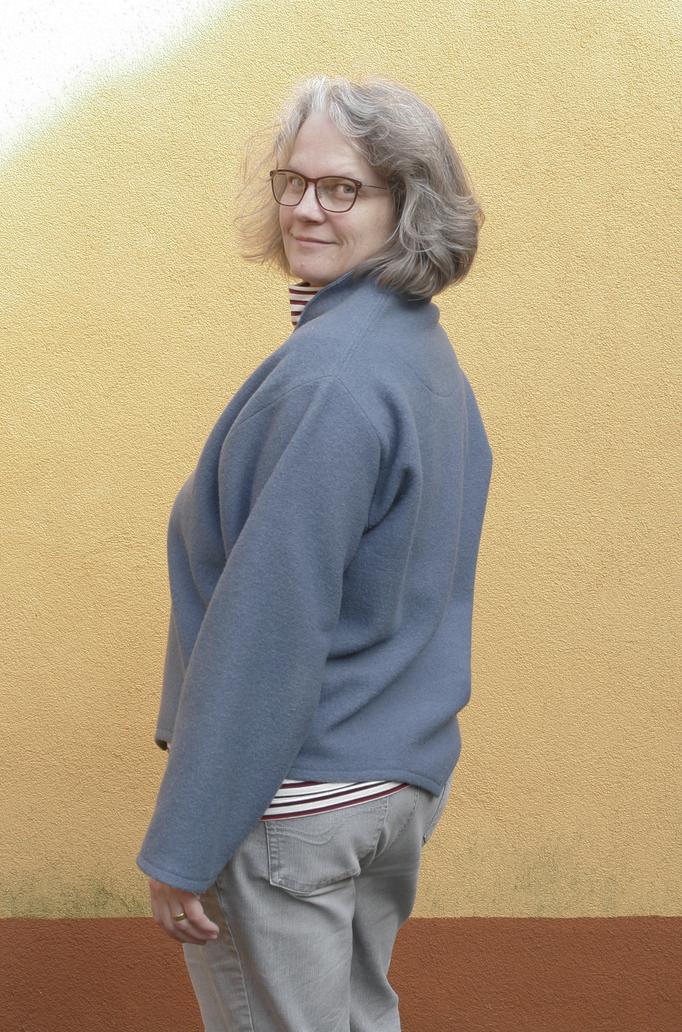 Kopierter Pullover mit Rollkragenshirt © GriseldaK 2018