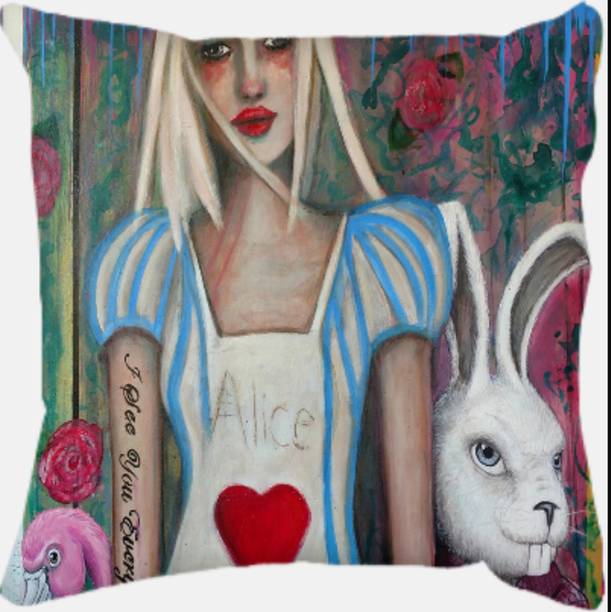"Alice       16x16 Printed Pillow   <a href=""https://squareup.com/store/hilliard-gallery/item/alice"" class=""sq-embed-item"">Buy Now</a> <script src=""https://cdn.sq-api.com/market/embed.js"" charset="""