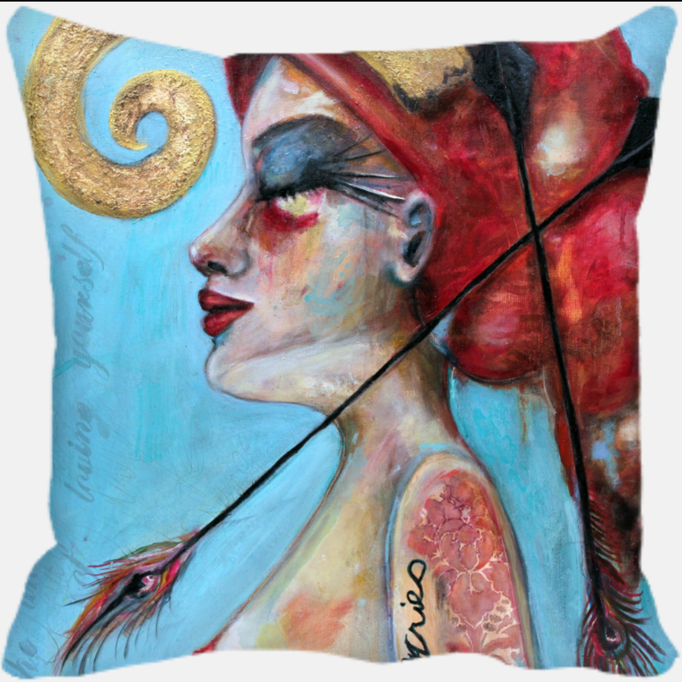 "Amelia the Aries     12x12 Printed Pillow  <a href=""https://squareup.com/store/hilliard-gallery/item/amelia-the-aries-1"" class=""sq-embed-item"">Buy Now</a> <script src=""https://cdn.sq-api.com/market/embed.js"" charset="""