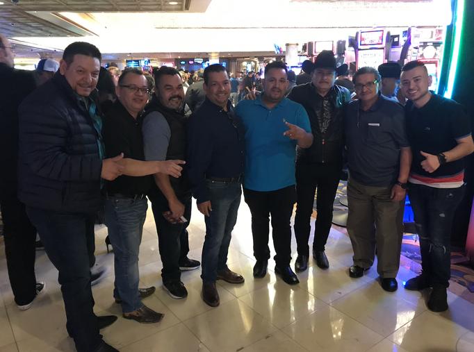 En Las Vegas con Creadorez y El Puma