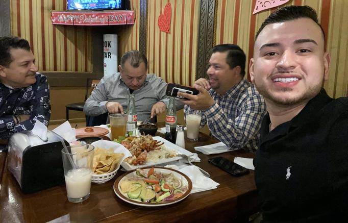 Comiendo con Dj's Raffy (New Jersey) y el Puma