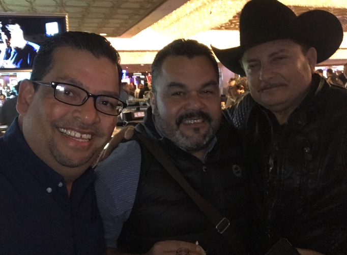 Con Cesar Alamilla y El Puma de Sinaloa