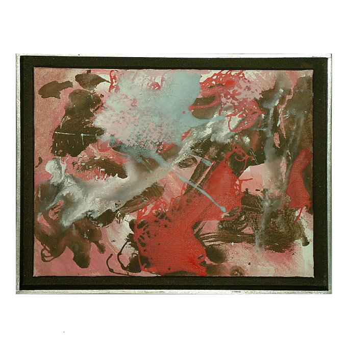 2000, Kleines, 27x35, Acryl-Leinwand