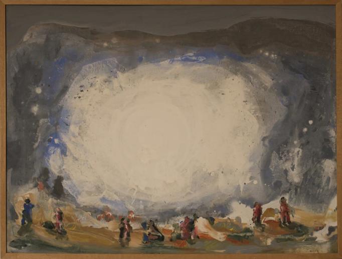 2014, (ohne Titel), 65x85, Acryl-Leinwand